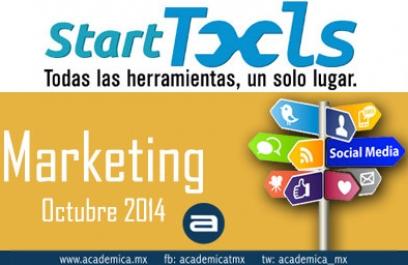 Aprende todo sobre Marketing Digital en StartTools