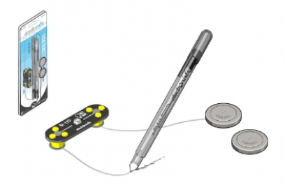 Conoce la pluma de tinta conductiva, para crear circuitos