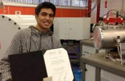 Mexicano inventa el acelerador de partículas miniatura más barato del mundo