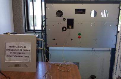 Fabrican prototipo para diagnóstico de fallas en máquinas industriales