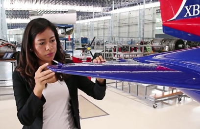 Estudiante mexicana trabaja con fibra de nopal para construcción de aeronaves
