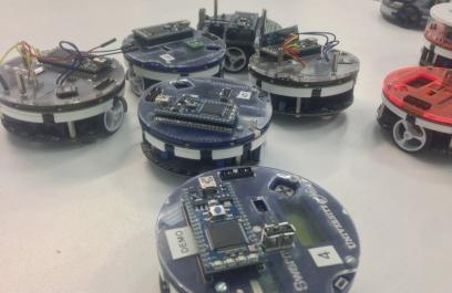 Edgar Buchanan y los enjambres robóticos