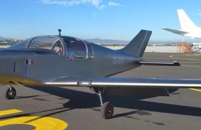 Halcón H1: despega el avión con tecnología mexicana
