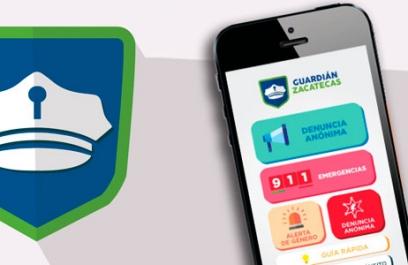 Guardián Zacatecas, una app para denuncia anónima