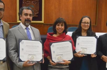 Distinguen a investigadores en oncología con el Premio Aida Weiss PUIS-UNAM