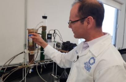 Usan microorganismos combinados con ingeniería para crear biorreactores y tratar aguas contaminadas