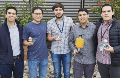 Logra éxito startup mexicana en hardware que facilita el internet de las cosas