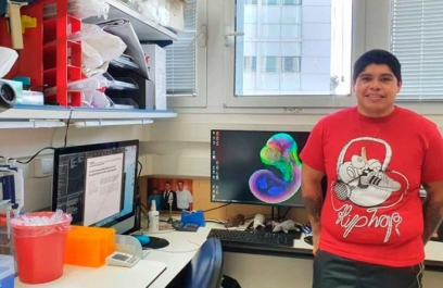 Joven científico mexicano participó en el logro de cultivar embriones de ratón fuera del útero
